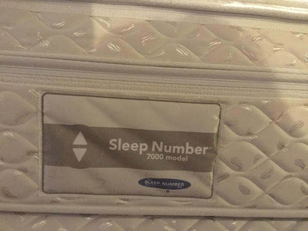Used Sleep Number 7000 model mattress for sale in ...