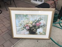 white and pink flowers painting Rockville Centre, 11570