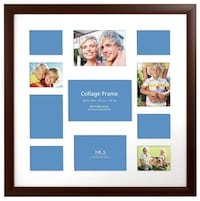 MCS 16x16 Inch Collage Frame with 11 Openings
