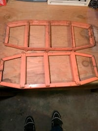 Orange Metal Traction Mats Firm $30.00 Elmira, N3B 2R5