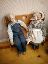Grand paw and Grand maw dolls