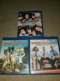 Workaholics Seasons 1-4 (blu-ray series) Gaithersburg, 20879