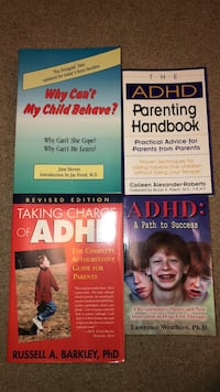 ADHD informative and parenting books Vienna, 22180