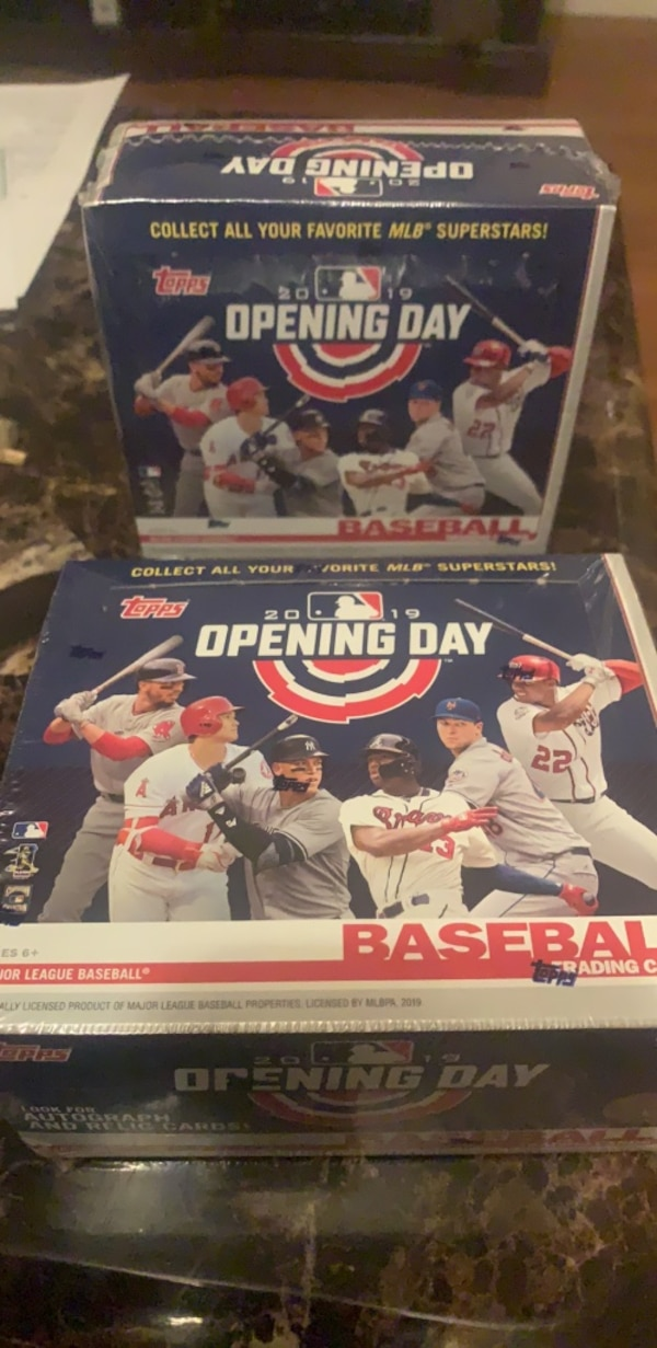 Baseball Cards Factory Sealed Hobby Box 2019 Topps Opening Day