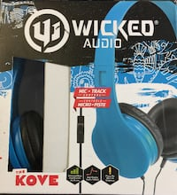 WICKED AUDIO THE KOVE + mic&track control (3 black & 1 blue) Montreal East