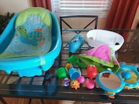 Baby bathtub and bath toys for big tub Huntsville, 35805