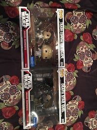 Funko pop star wars movie scenes 35 each
