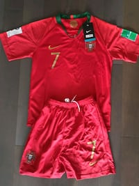 Brand new in tags 2018 portugal world cup kids kit Mississauga, L5B 4P5