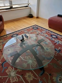 Round Glass Coffee Table  Chicago, 60614
