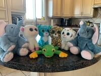BEANIE BABY COLLECTION (frog has been sold)