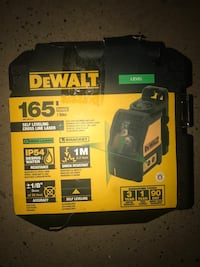 Dewalt Self-Leveling Cross Line Green Laser Level - New  Las Vegas, 89147