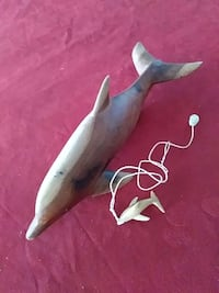 Carved Dolphins - Display and Pendant Honolulu, 96819