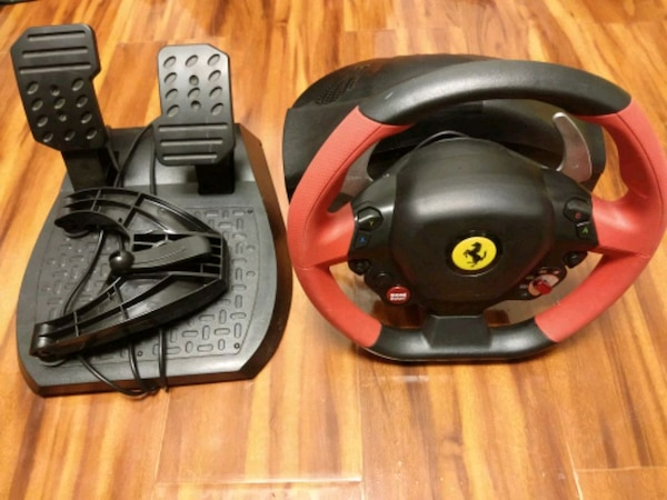 Thrustmaster Ferrari 458 Spider Racing Wheel For Xbox One And Pc