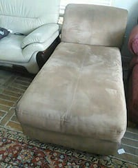 brown suede chaise lounge Houston, 77096