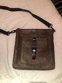 RUDSAKE real leather crossbody bag for men