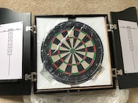 Solid Wood Dart Board Cabinet - Never Used Reston, 20190