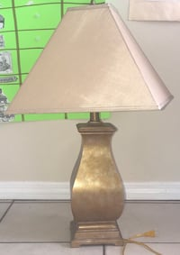 Gold table lamp Davie, 33324