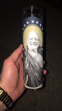 Willy Nelson Jesus candle Lowell, 72745