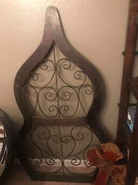 Wood and metal wall art Chesterfield, 63017