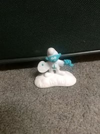 Small Smurf Figure  Barrie