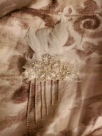 Angelic Fascinator clip for hair