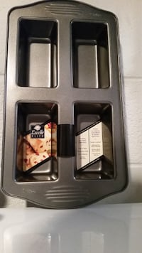 Wilton 4 Cavity Mini Loaf Pan (NEW) COLUMBIA