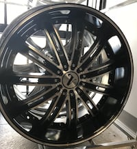 "New! 22"" Velocity V14 Gloss Black Polished Rims Wheels 5x120 Camaro BMW 5x115 Charger 300 Magnum Tampa, 33615"
