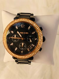 Black Michael Kors ladies watch Mississauga, L4X 1L9