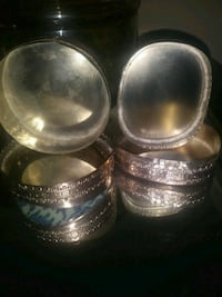 two stainless steel cooking pots Alexandria, 22309