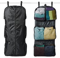 RuMe Tri-fold Garment/Clothing Travel Organizer Bag With Attached Packing Cubes For Clothes And Shoes  Indianapolis, 46224