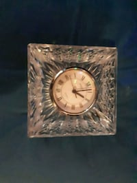 Waterford Crystal clock paperweight Oshawa, L1H 2Y8