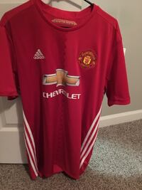 Red and white adidas chevrolet jersey Auburn, 36832