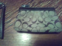 gray and black Coach coin purse North Las Vegas, 89030