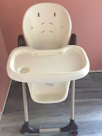 Baby's white highchair Calgary, T2A 2K2