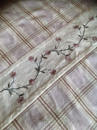 Duvet cover queen  100% thick cotton. Brossard, J4Y 2J7