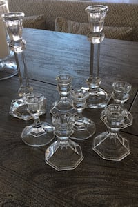 Assorted Glass candle stick holder Ashburn, 20148