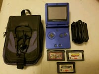 Game Boy advance with 3 games & case. $20. 213 mi