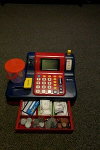 red and black cash register toy Fort Washington, 20744