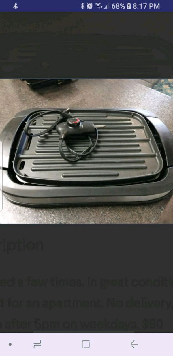 Apartment_ Indoor grill ,portable