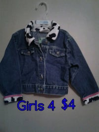 blue denim button-up jacket Calgary, T3B 0T3