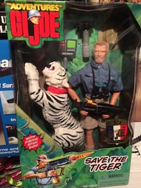 Save the Tiger GI Joe figure in box Villa Park, 60181