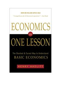 Economics In One Lesson- Henry Hazlitt  Leesburg, 20176