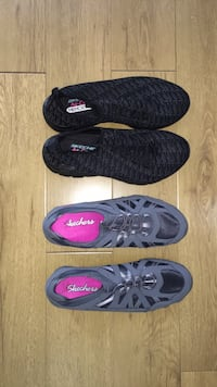 Two pairs of low-top sketchers for 40.00-barely worn- sz 8 West Covina, 91791