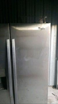 stainless steel side by side refrigerator Fort Worth, 76135