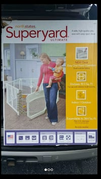 New superyard baby gate w/ door Conyers, 30012