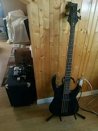 Bass Guitar and Amp Spotswood, 08884