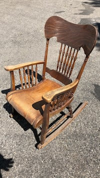Antique rocking chair Rocky View No. 44, T3Z 3N9