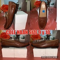 pair of brown leather loafers Lawrence, 01841
