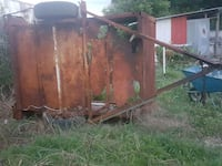brown and black utility trailer Houston, 77093