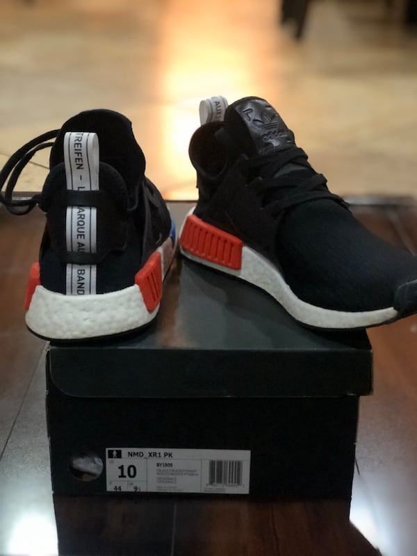 Used Adidas Nmd Xr1 Og Colorwave Size 10 For Sale In Menifee Letgo